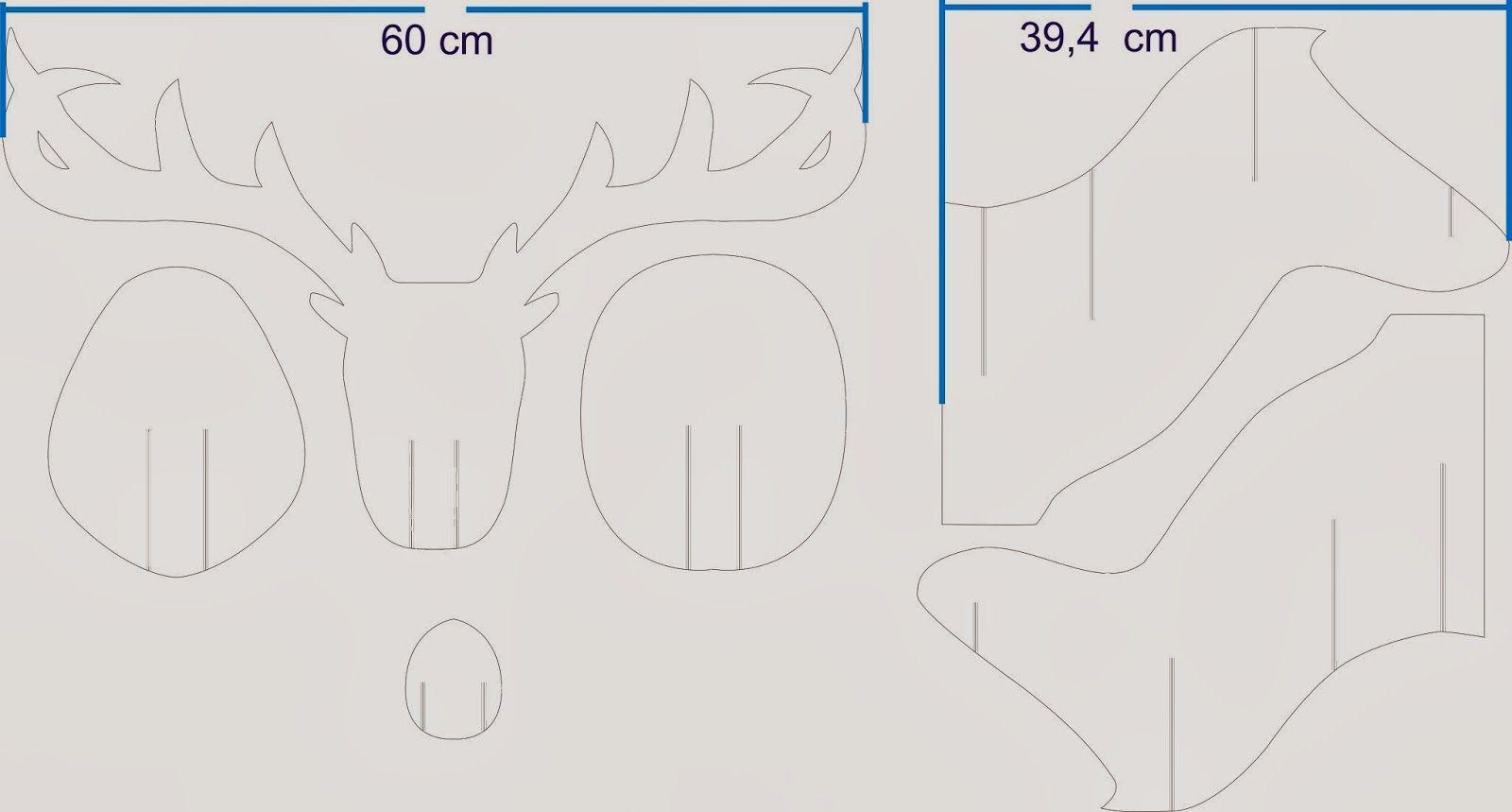 Como se hace..... Jorge Pantoja: Como se hace un reno o alce en ...