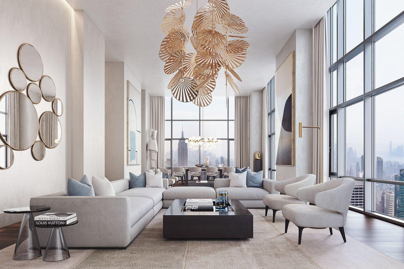 Living Room Design Ideas in 20   Luxury living room design ...