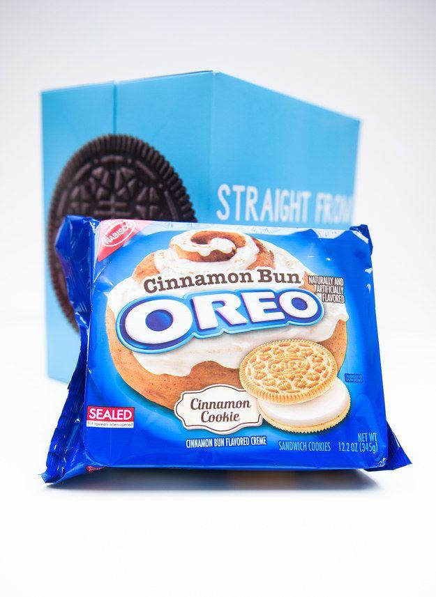 The New Oreo Flavor Is Cinnamon Bun And They Taste Like Dunkaroos