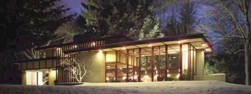 Frank Lloyd Wright S Louis Penfield House Wants 1 7m The Wright House Frank Lloyd Wright Homes Usonian Style
