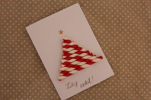 Cartões, DIY, Natal, Faça Você Mesma, DIY, Tutorial, Como Fazer