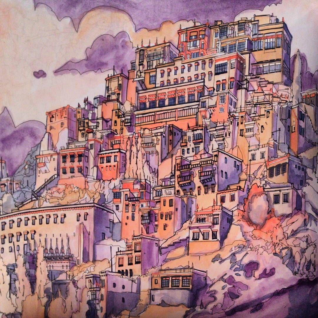 Fantastic cities | Ciudades Fabulosas - Embotellamiento | Pinterest ...