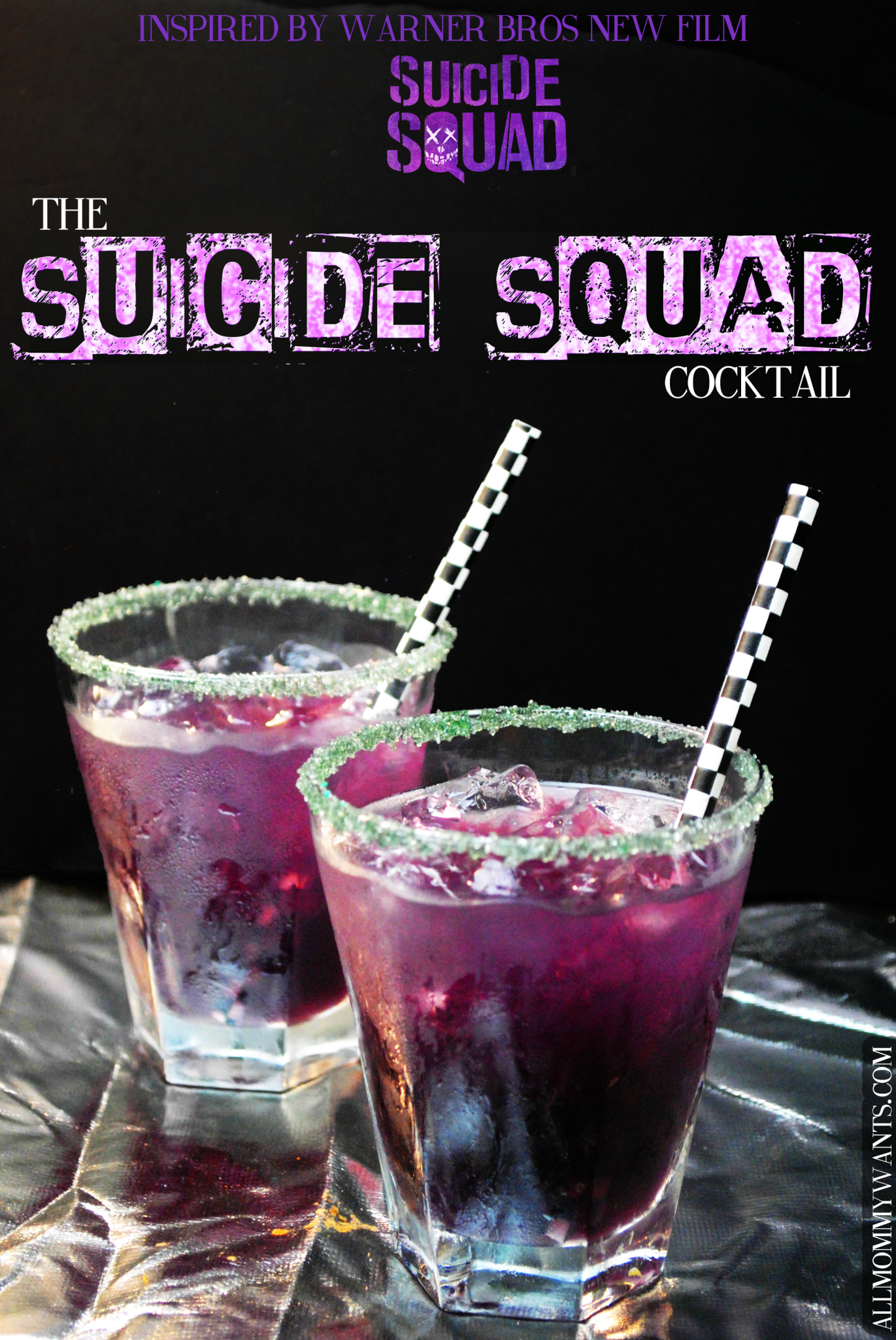 cocktail the suicide squad drinks pinterest. Black Bedroom Furniture Sets. Home Design Ideas