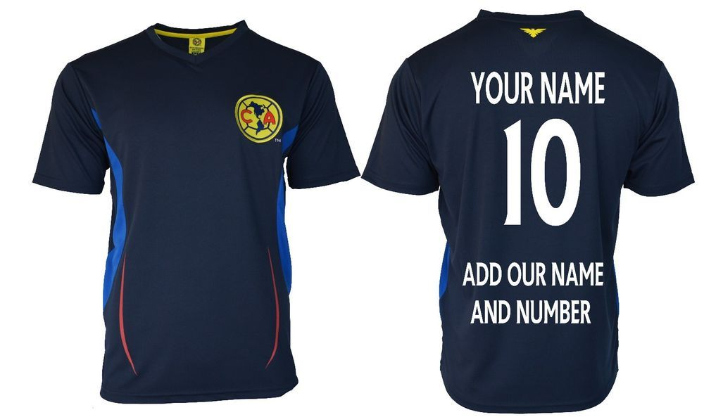hot sale online 97379 507f9 Details about club America las Aguilas Soccer Jersey Mexico ...