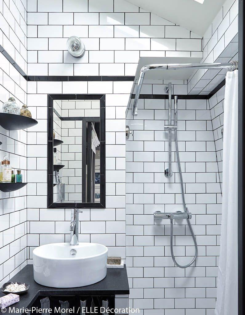 Salle de bains sous les toits Espaces confinés Pinterest