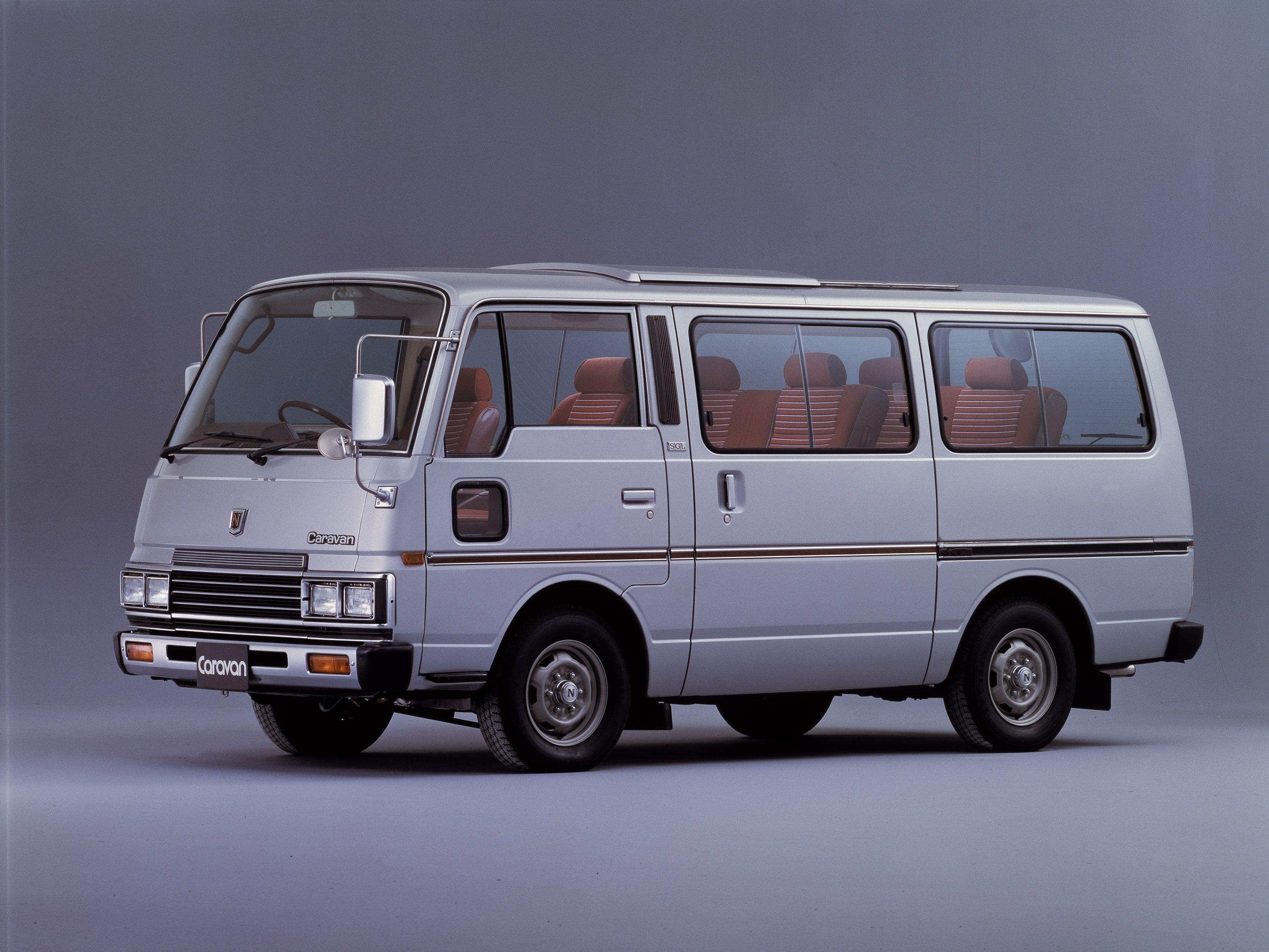 Nissan caravan silk road e23 1983 86