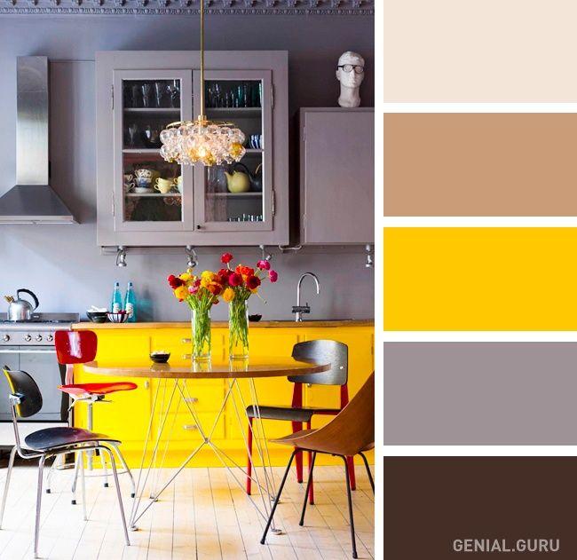 20 perfectas combinaciones de colores para tu cocina for Combinacion de colores para comedor