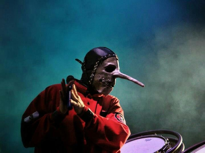 Slipknot live. Awesome pic