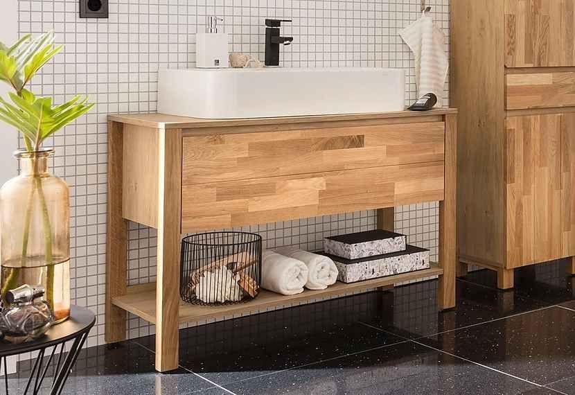 Home affaire Waschbeckenunterschrank »Kaika«, Breite 100 cm ...