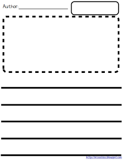 Letter Writing Template Prints DoubleSided With An Envelope