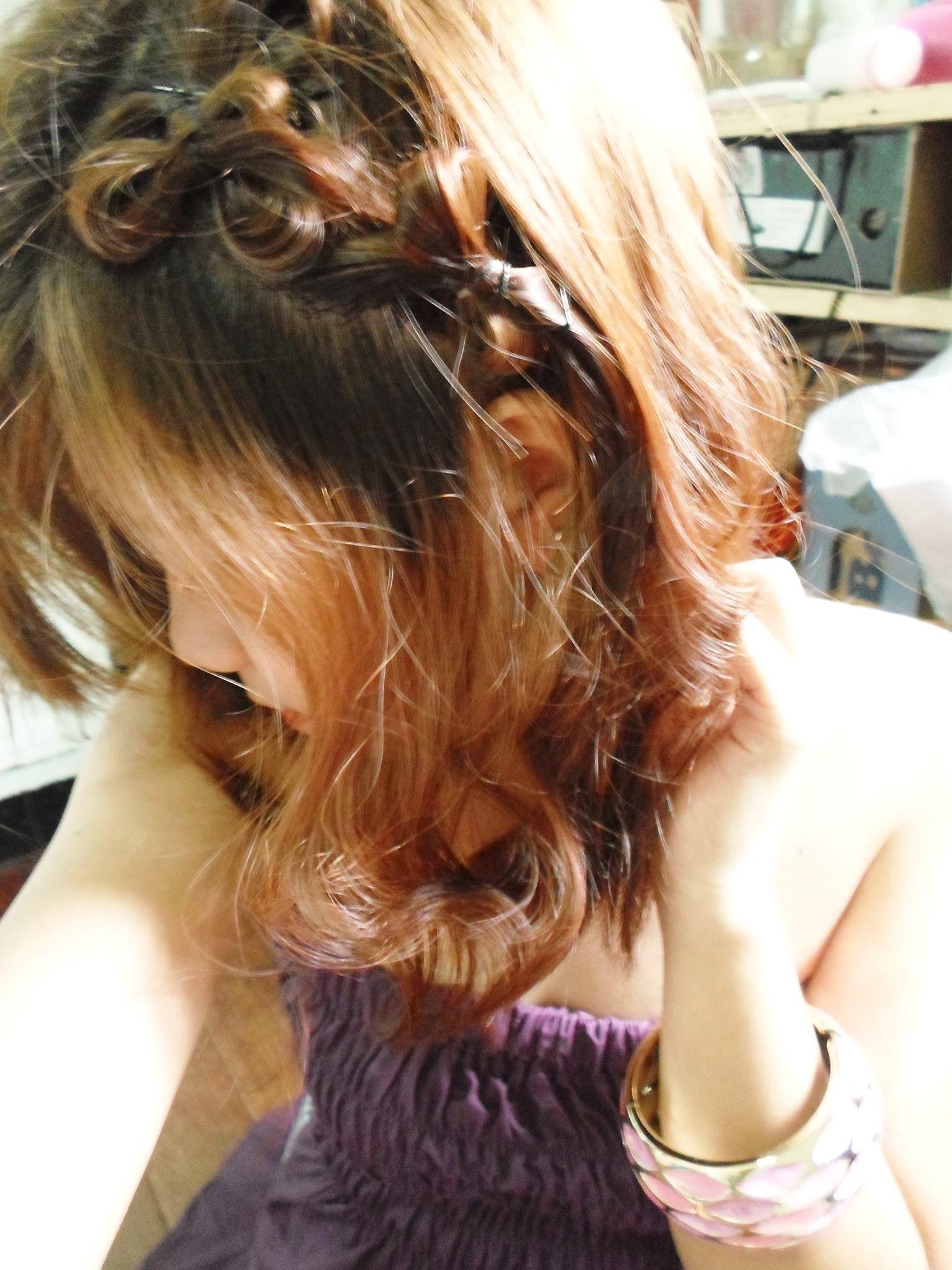 my hair :3 !!