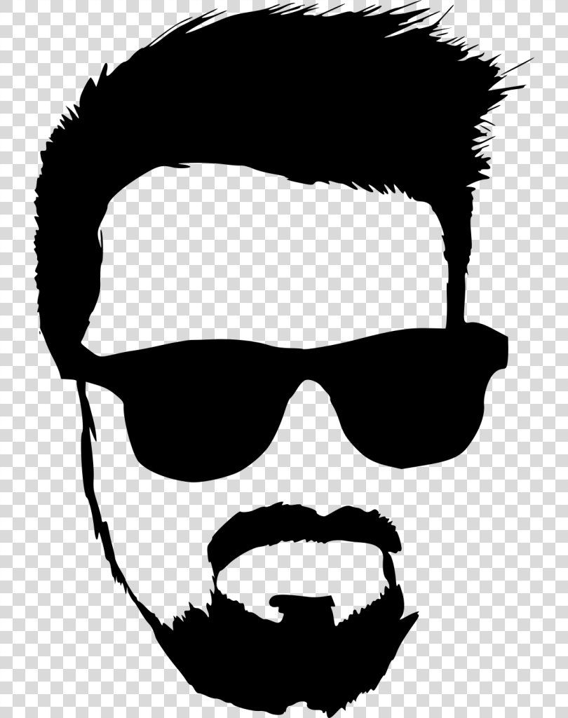 Hipster Clip Art Hipster Beard Png Hipster Black And White