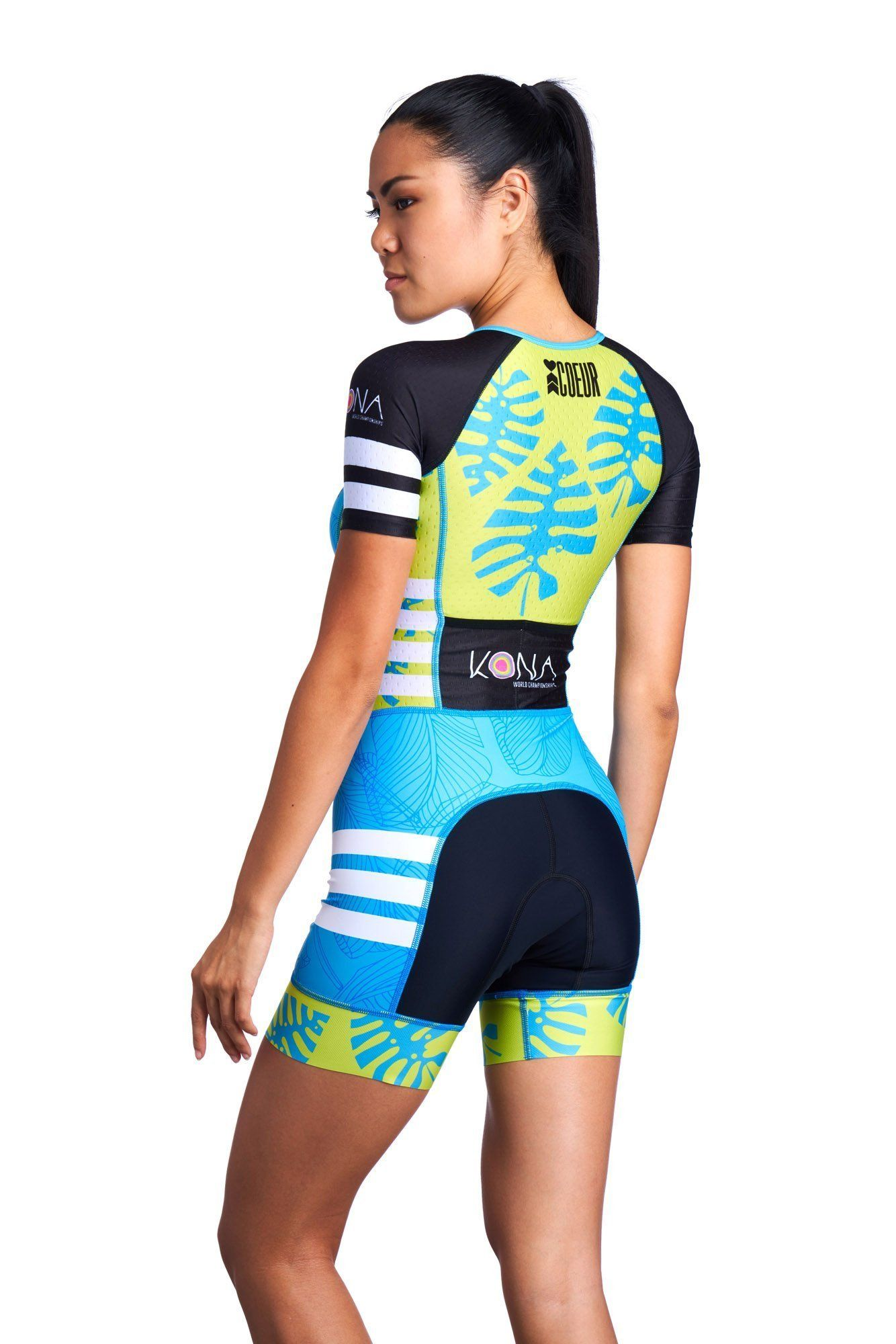 106777ab8da Kona 18 Women s Sleeved One Piece Triathlon Suit