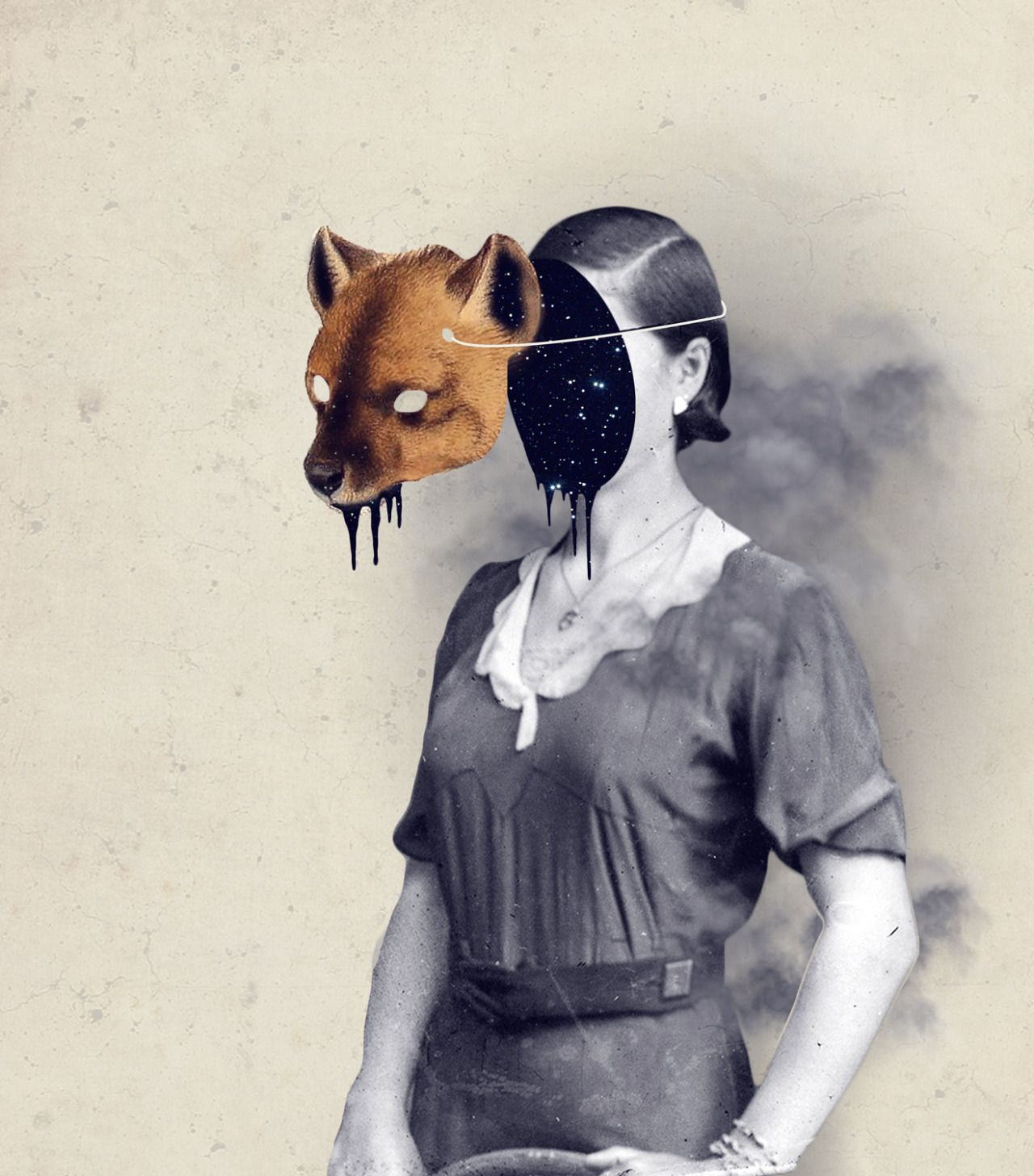 The Daily Muse: Julia Geiser, Digital Collage Artist - Curated by Elusive Muse   http://elusivemu.se/julia-geiser/  ©2015, All Rights Reserved, Julia Geiser