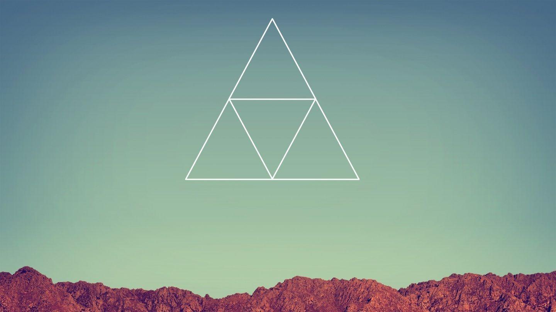 Zelda iphone wallpaper tumblr - Hipster Triangle Wallpaper Buscar Con Google