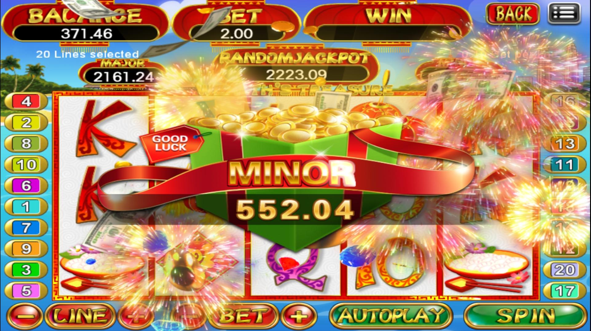Tahniah Member Terkena Minor Jackpot dalam Scr2 , RM552.04 !!!