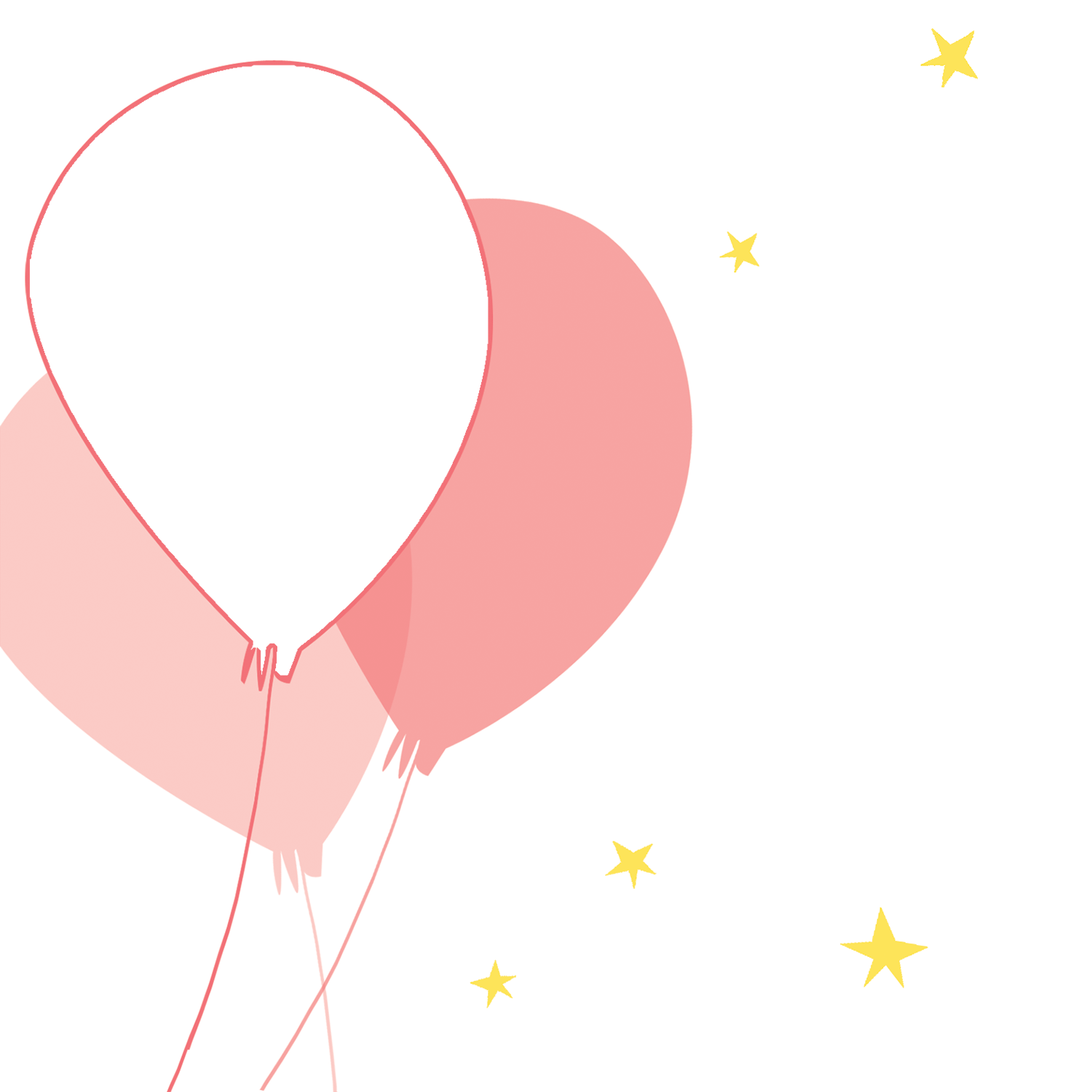 Pink Balloons Party Free Printable Birthday Invitation Template