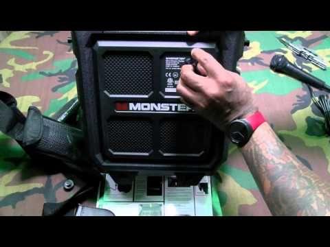 Monster Rockin Roller Mini Portable Indoor/Outdoor Bluetooth Speaker -  Best sound on Amazon: http://www.amazon.com/dp/B015MQEF2K - http://gadgets.tronnixx.com/uncategorized/monster-rockin-roller-mini-portable-indooroutdoor-bluetooth-speaker/