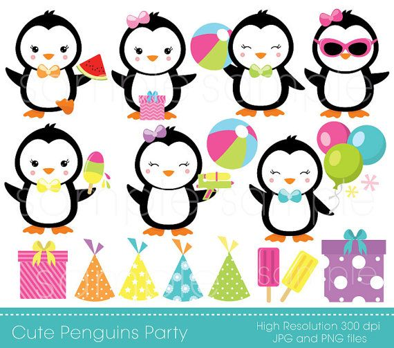 penguins party clipart penguin clip art penguin party only for rh pinterest com winter wonderland clipart images winter wonderland clipart black and white