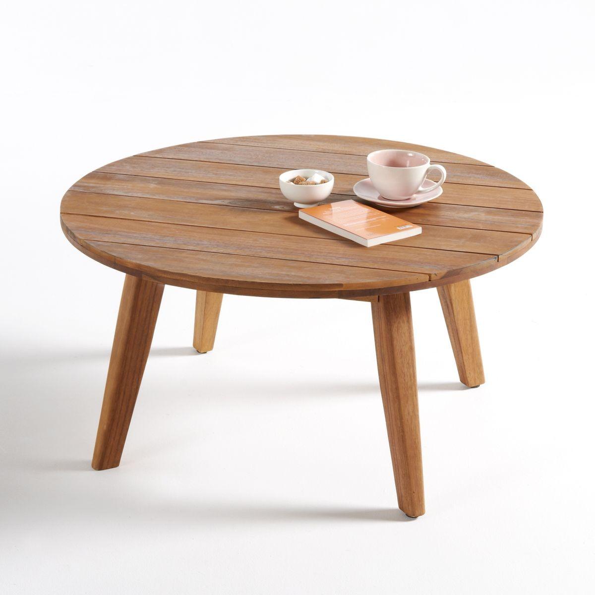 Table Basse De Jardin En Acacia Grigio - Taille : Taille ...
