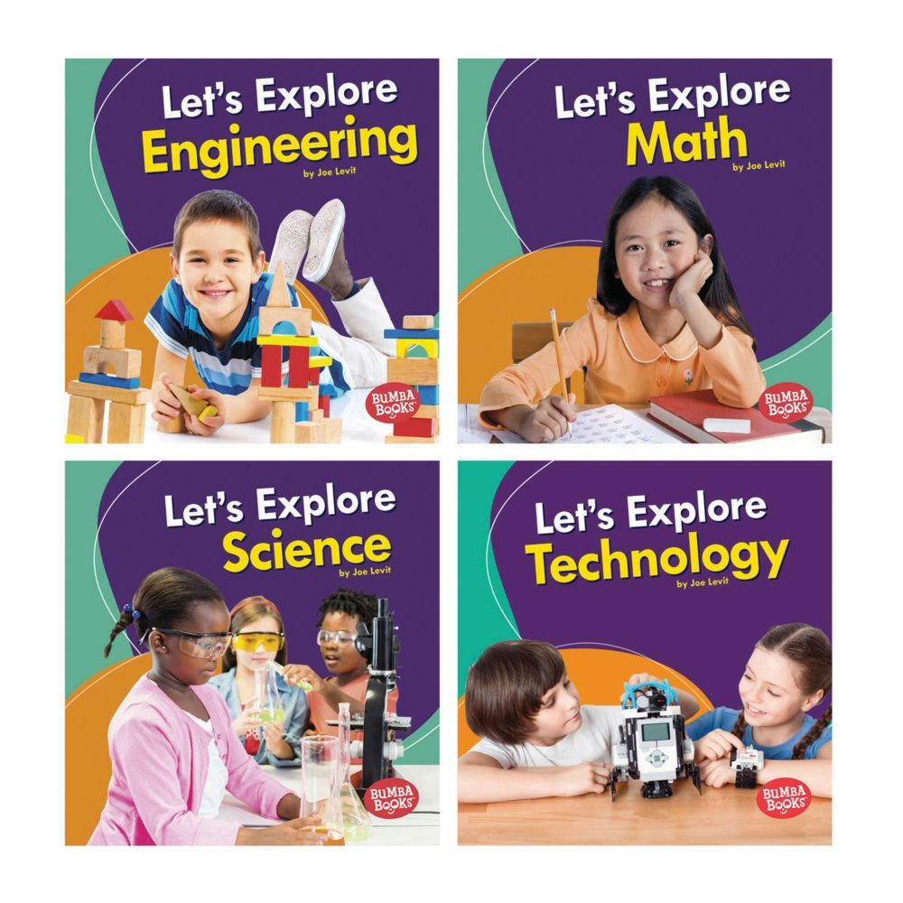 Carefully leveled text and fresh, vibrant photos give young readers an introduction to the four STEM topics: science, technology, engineering, and math. Age-appropriate critical thinking questions and a photo glossary help build nonfiction learning skills.<br/><br/>Special Shipping Information: This item ships separately from other items in your order. This item cannot ship to a P.O. Box. This item may be subject to additional processing days.<br/><br/>Special Shipping Information: This item shi