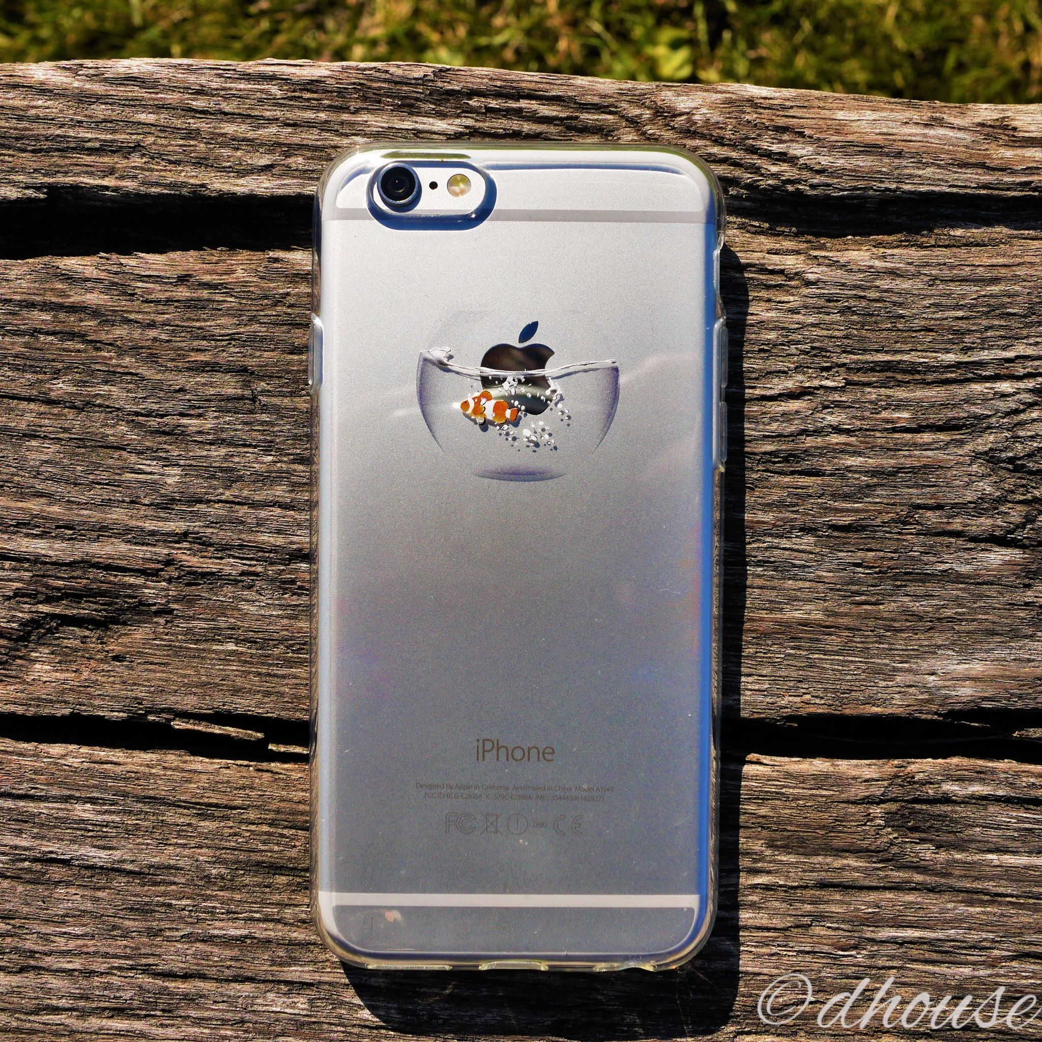 MADE IN JAPAN Soft Clear iPhone Case - Clownfish in ...