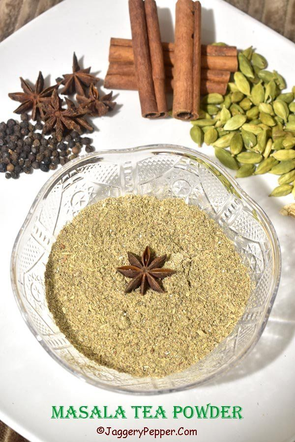 masala tea powder recipe - chai masala powder - tea masala powder