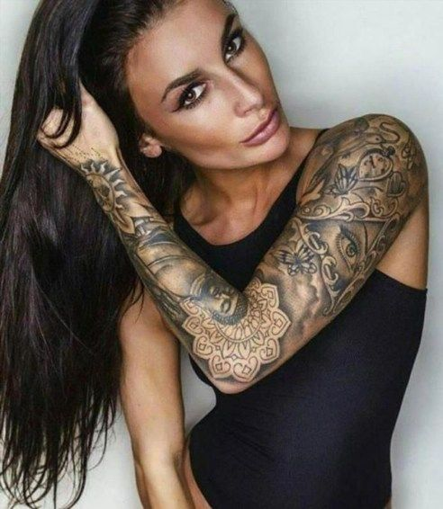 Most Beautiful Arm Tattoo Design For Women 03 Sexy Tattoos For