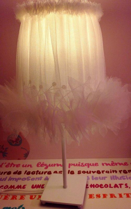 Lampe danseuse id e pour customiser mon vieux lampadaire chambre b b pinterest - Tenture chambre bebe ...