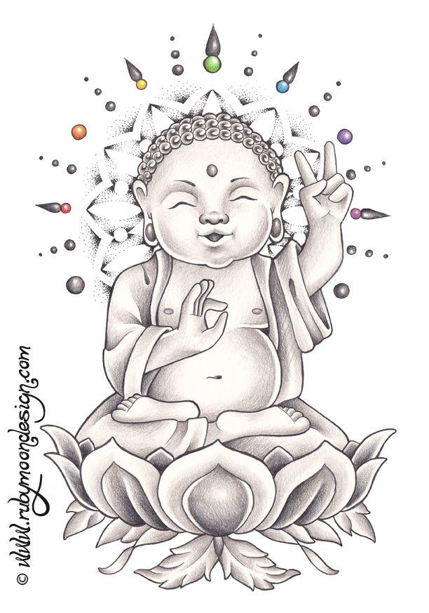 Baby Buddha 2 by *RubyMoonDesign on deviantART   Ezo   Pinterest ...