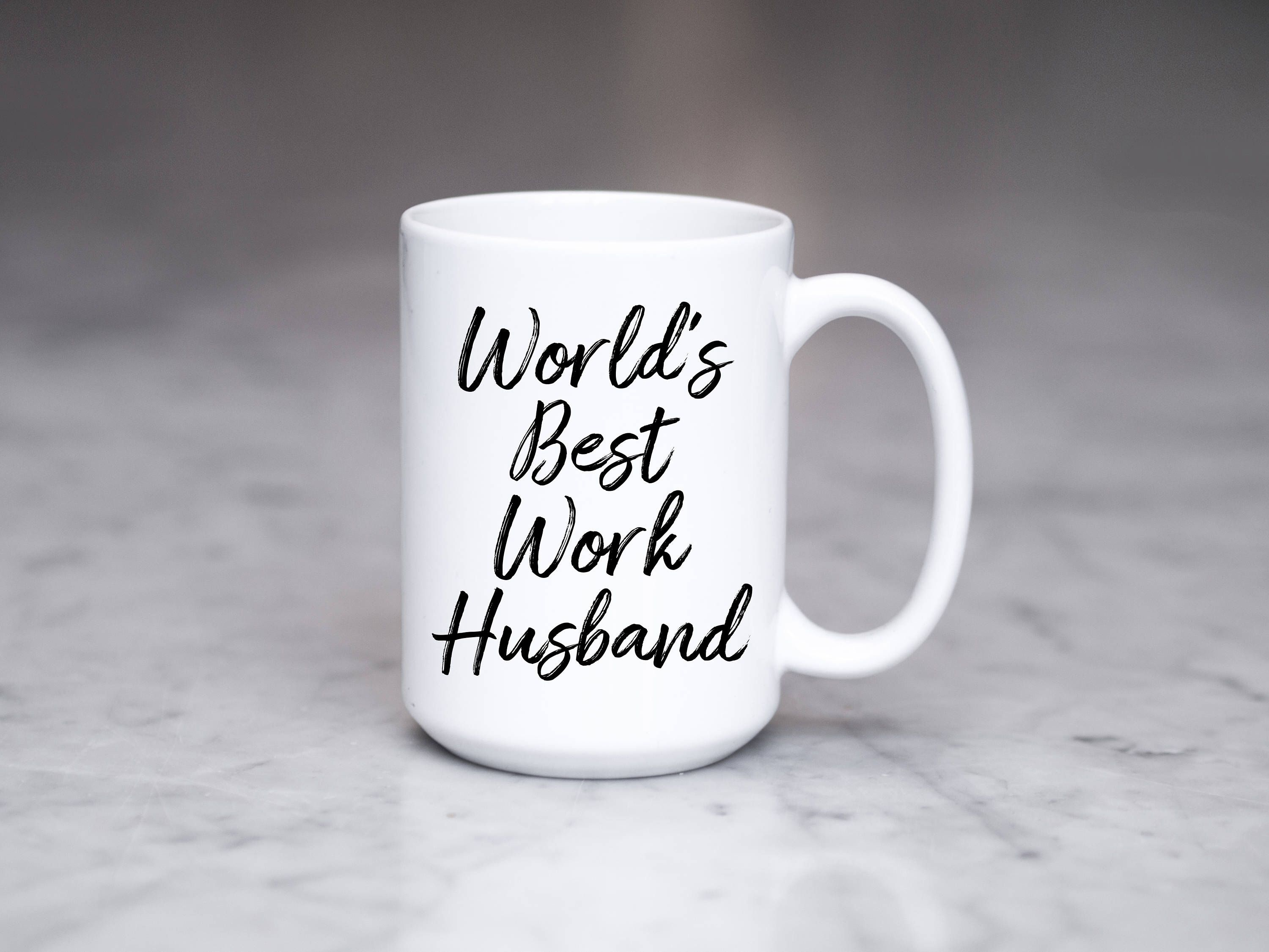 World s Best Work Husband Mug Work Husband Gift Coworker Gift