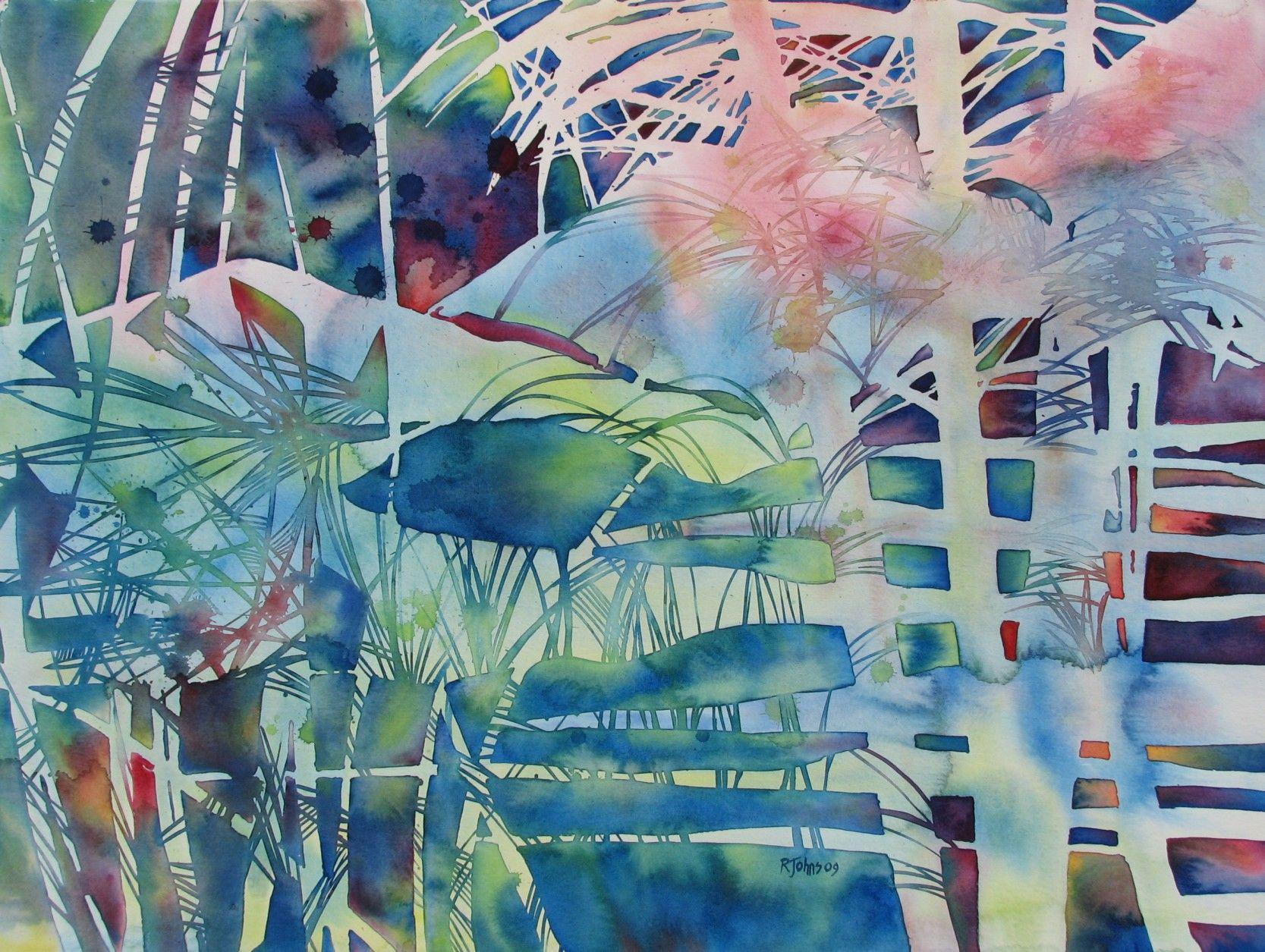 Watercolor artist magazine palm coast fl - Image Detail For Watercolor Art By Rhene Johns Artist