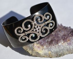 NWT GIFT JEWELRY OLIVIA WELLES  cuff bracelet STERLING SILVER/ stainless steel  | eBay
