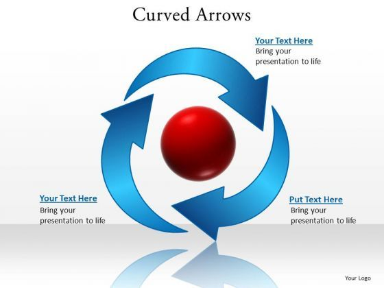 Powerpoint Templates Marketing Curved Arrows Ppt Design Powerpoint