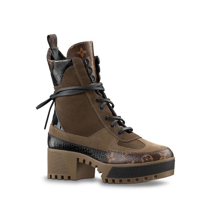 ba3df7b3962 Designer Leather Boots for WOMEN - LOUIS VUITTON ®