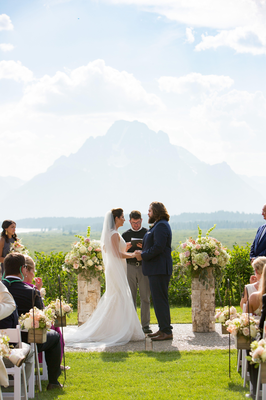 Jackson Hole   Wyoming weddings