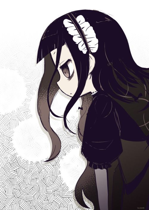 Mahō Shōjo Ikusei Keikaku Ako Hatoda Hardgore Alice Magical Girl Raising Project Sketches Anime Fanart