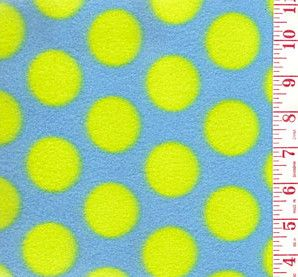 Yellow Dots CatMat from mehlenbeck.com | These vibrant colors! What a combination...