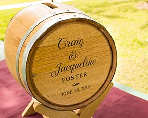 Personalized Wedding Wine Barrel Card Box Ideas Pinterest And Weddings