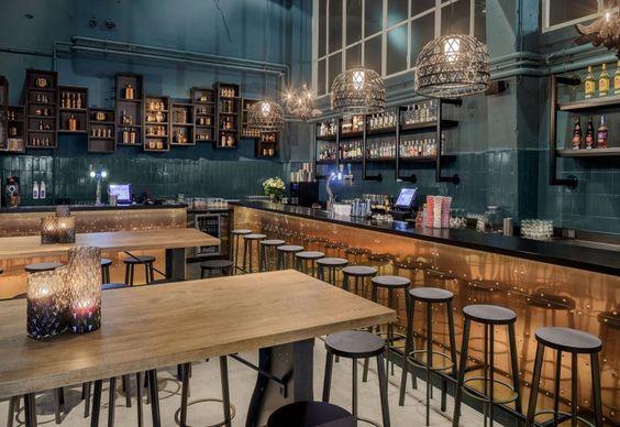 Ristorante mama kelly den hang restyling sala bar bancone tavoli