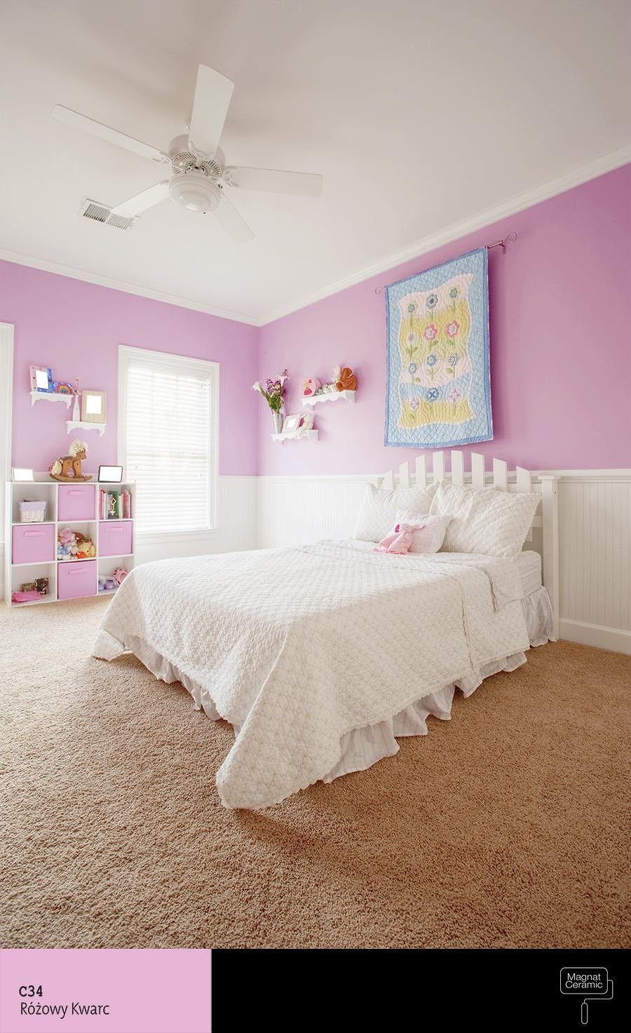 Dobor Koloru Inspiracje Girls Bedroom Bedroom Images Kids Bedroom