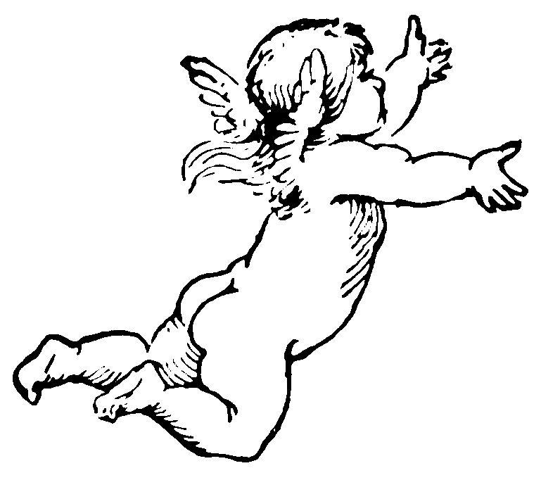 cherub vintage valentine clip art 16 cherub cliparts cherub rh pinterest com cherub clipart free Valentine Cherub