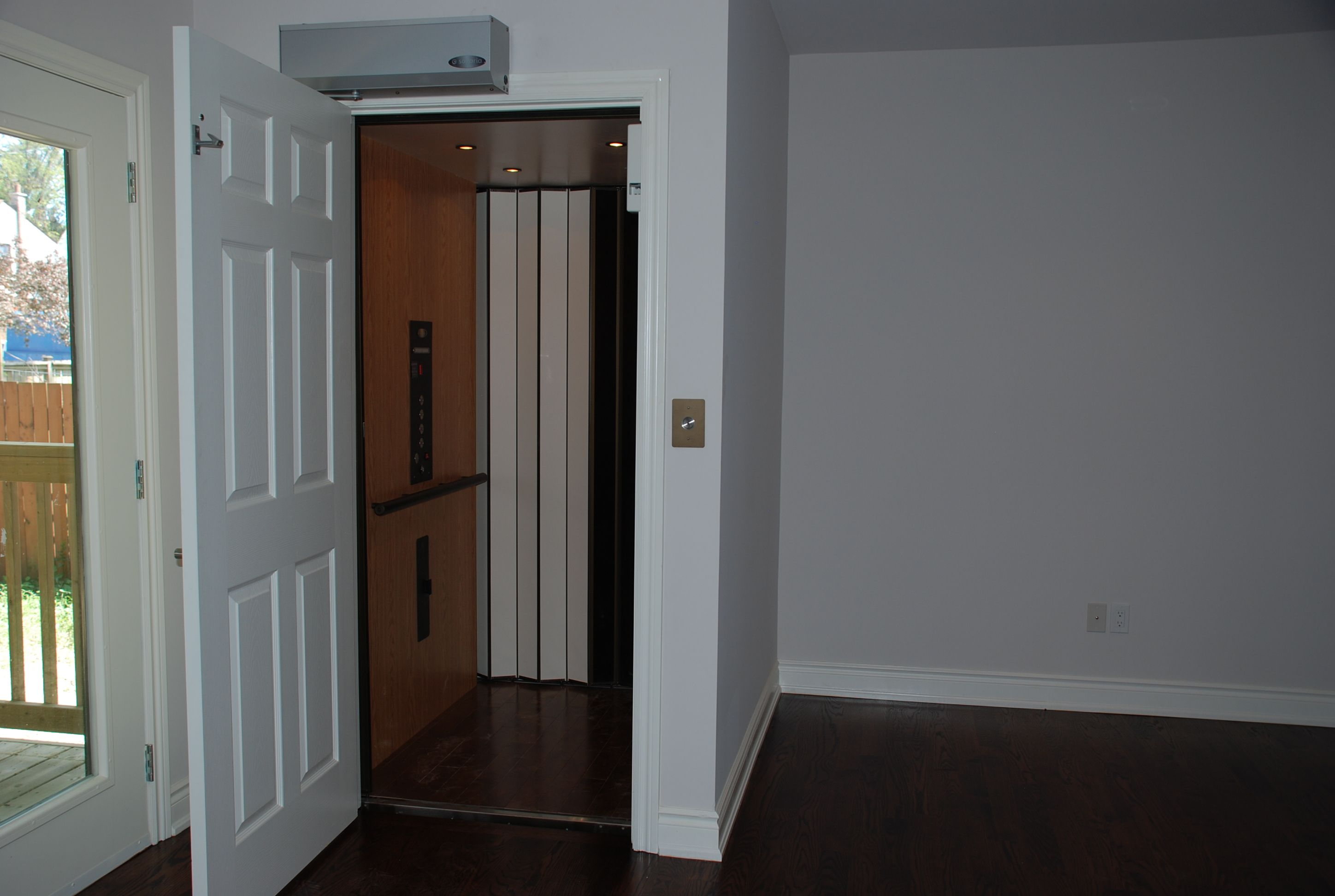 Wheelchair accessible home elevator accessibility for Wheelchair accessible house plans with elevator