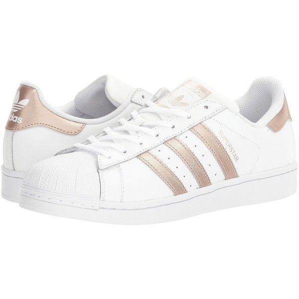 sélection premium c6a58 bd696 adidas Originals Superstar (Footwear White/Copper Metallic ...