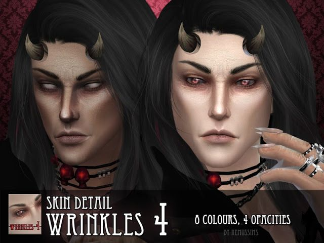 Sims 4 CC's - The Best: Wrinkles 4 - for males by RemusSirion