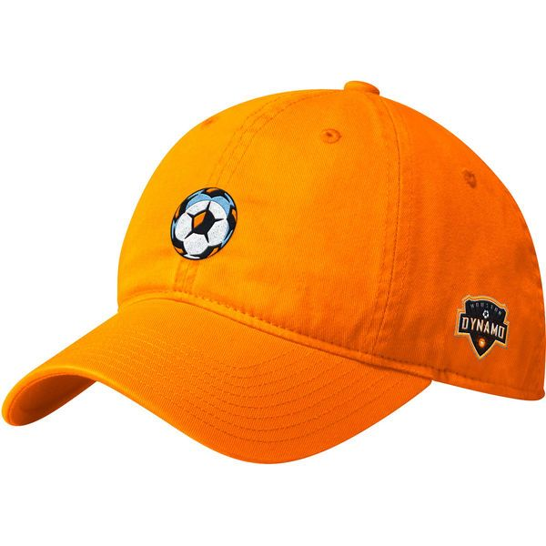 07933ef8c2a Men s Houston Dynamo adidas Black Slouch Adjustable Dad Hat