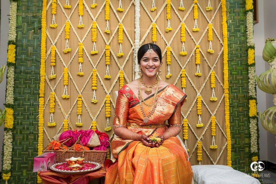 Seemantham Decorations In Hyderabad 2