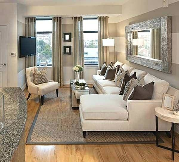 L Shaped Living Dining Room | Living room furniture layout ...