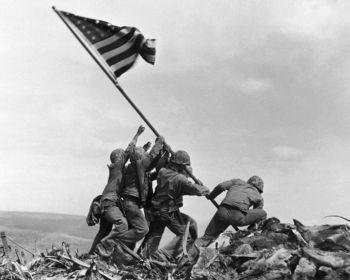 Iwo Jima Flag Raising Battle Of Iwo Jima Iwo Jima Iwo Jima Flag