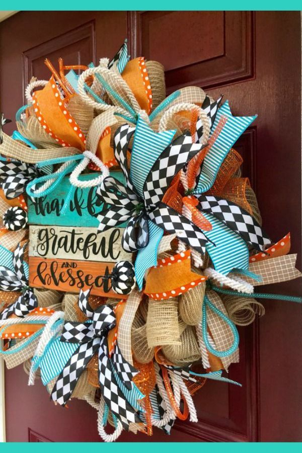 2018 August Wreath Creations From The Trendy Tree Custom
